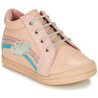 kengät Tytöt Bootsit André ONDEE Vaaleanpunainen