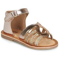 kengät Tytöt Sandaalit ja avokkaat André LEÏA Kulta