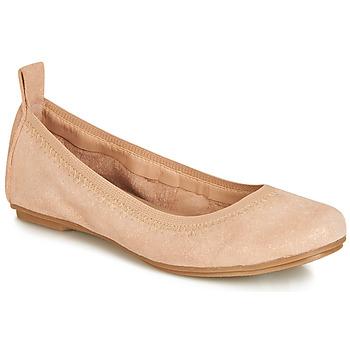 kengät Tytöt Balleriinat André PEPITE Vaaleanpunainen