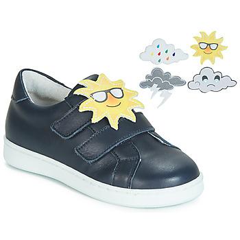 kengät Tytöt Koripallokengät André SAISONS Blue