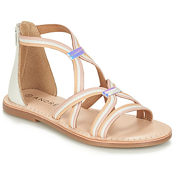 kengät Tytöt Sandaalit ja avokkaat André MELODIE White