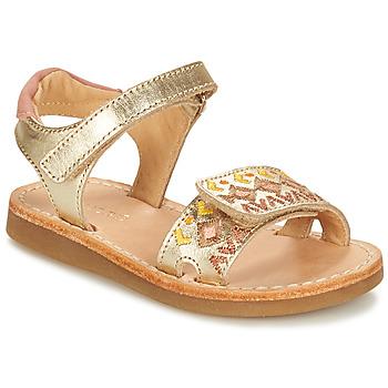 kengät Tytöt Sandaalit ja avokkaat André ALMERIA Kulta