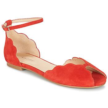 kengät Naiset Sandaalit ja avokkaat André SERINGAT Red