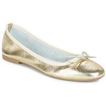 kengät Naiset Balleriinat André PIETRA Gold