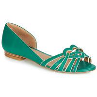 kengät Naiset Balleriinat André CHRISTIE Green