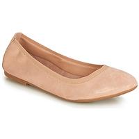 kengät Naiset Balleriinat André CARLARA Vaaleanpunainen
