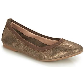 kengät Naiset Balleriinat André CARLARA Bronze