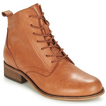 kengät Naiset Bootsit André GODILLOT Camel
