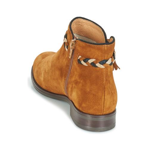 André Ravie Camel - Ilmainen Toimitus- Kengät Bootsit Naiset 80