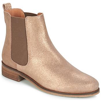 kengät Naiset Bootsit André CHATELAIN Kulta