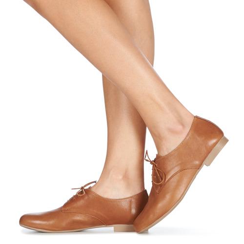 André Complicity Camel - Ilmainen Toimitus- Kengät Derby-kengät Naiset 101