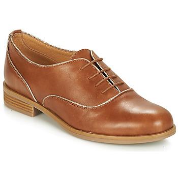 kengät Naiset Derby-kengät André CHOMINE Kamelinruskea