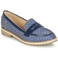 kengät Naiset Mokkasiinit André PORTLAND Blue