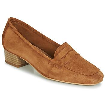 kengät Naiset Mokkasiinit André SENLIS Kamelinruskea