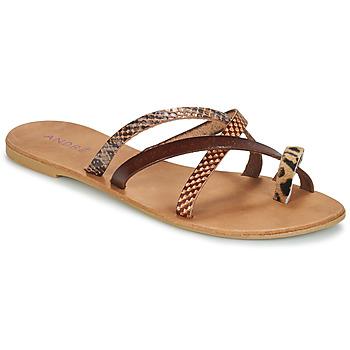 kengät Naiset Sandaalit André RYE Brown