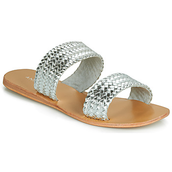 kengät Naiset Sandaalit ja avokkaat André CHUPA Hopea