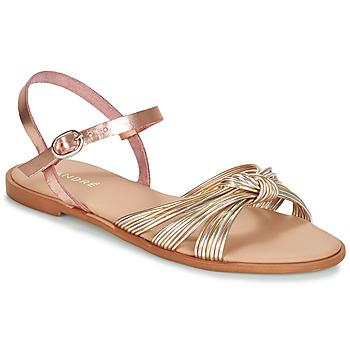 kengät Naiset Sandaalit ja avokkaat André SOFIA Kulta