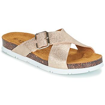 kengät Naiset Sandaalit André RICKA Kulta