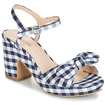 kengät Naiset Sandaalit ja avokkaat André SPRING Blue