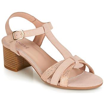 kengät Naiset Sandaalit ja avokkaat André CAROLA Nude
