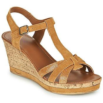 kengät Naiset Sandaalit ja avokkaat André ALOE Camel