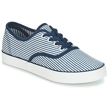 kengät Naiset Matalavartiset tennarit André STEAMER Blue / White