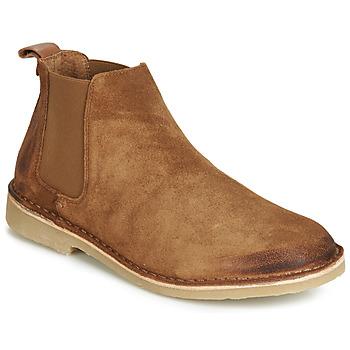 kengät Miehet Bootsit André RONNY Cognac