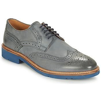 kengät Miehet Derby-kengät André FLOWER Grey / Blue