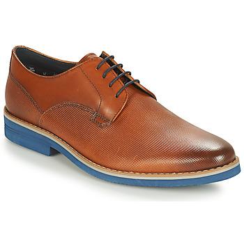 kengät Miehet Derby-kengät André CANOE Cognac / Blue