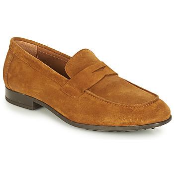 kengät Miehet Mokkasiinit André PLATEAU Cognac