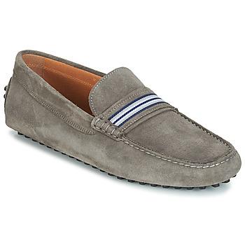 kengät Miehet Mokkasiinit André PITCHOU Grey