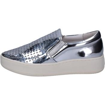 kengät Naiset Tennarit Uma Parker slip on argento pelle BT564 Argento