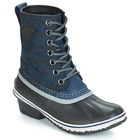 kengät Naiset Talvisaappaat Sorel SLIMPACK 1964 Blue / Black