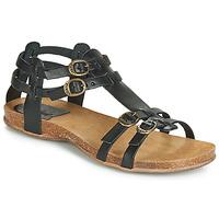 kengät Naiset Sandaalit ja avokkaat Kickers ANA Musta