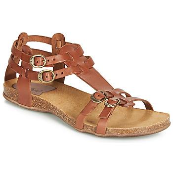 kengät Naiset Sandaalit ja avokkaat Kickers ANA Ruskea