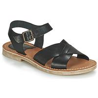 kengät Naiset Sandaalit ja avokkaat Kickers TILLY Musta