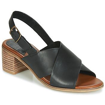 kengät Naiset Sandaalit ja avokkaat Kickers VICTORIANE Black