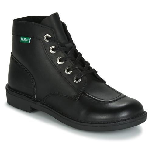 kengät Naiset Bootsit Kickers KICK COL Musta