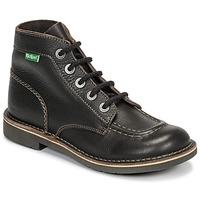kengät Naiset Bootsit Kickers KICK COL Brown