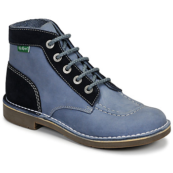kengät Naiset Bootsit Kickers KICK COL Blue