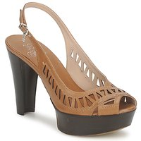 kengät Naiset Sandaalit ja avokkaat Fabi CALECHE Brown