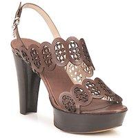 kengät Naiset Sandaalit ja avokkaat Fabi PANAMA Brown