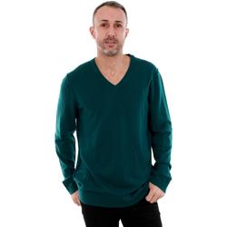 vaatteet Miehet Neulepusero Calvin Klein Jeans J3EJ300649 910 Verde