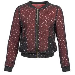vaatteet Naiset Takit / Bleiserit Moony Mood CAT Black / Red