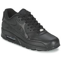 kengät Miehet Matalavartiset tennarit Nike AIR MAX 90 Black