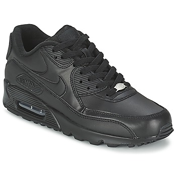 kengät Miehet Matalavartiset tennarit Nike AIR MAX 90 Black