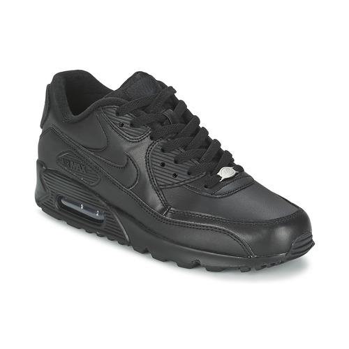 newest 8ec80 f9cf0 kengät Miehet Matalavartiset tennarit Nike AIR MAX 90 Black
