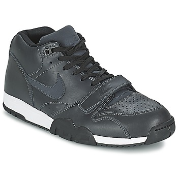 kengät Miehet Matalavartiset tennarit Nike AIR TRAINER 1 MID Black