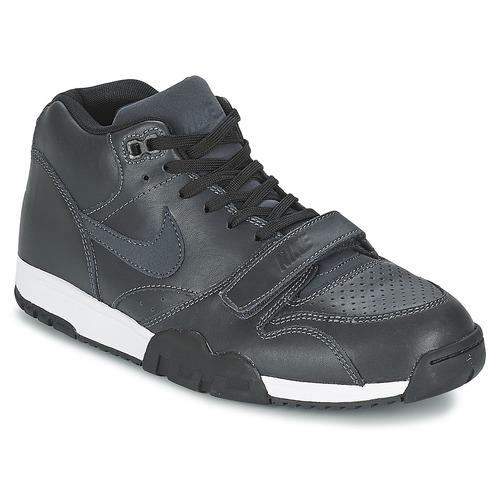 brand new ae51b 28fdc kengät Miehet Matalavartiset tennarit Nike AIR TRAINER 1 MID Black
