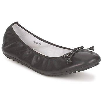 kengät Naiset Balleriinat Mac Douglas ELIANE Black